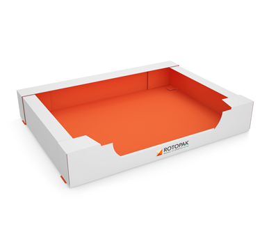 Self-locking Industrial Tray with Open Side- ROTOPAK-IT-01-006