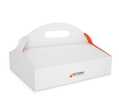 Pastry Box with Handle-ROTOPAK-Pab-02-001