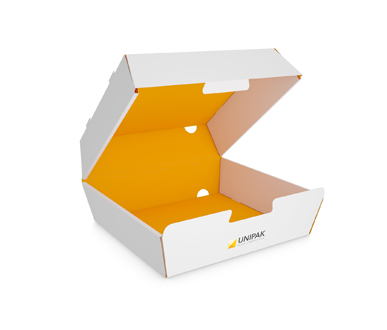 Clamshell Burger Box- UNIPAK-SB-01-003
