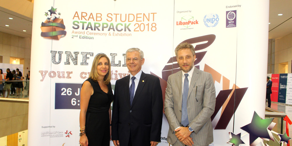 UNIPAK recognizes a new Arab talent at the second edition of Arab Student StarPack Competition for 2018