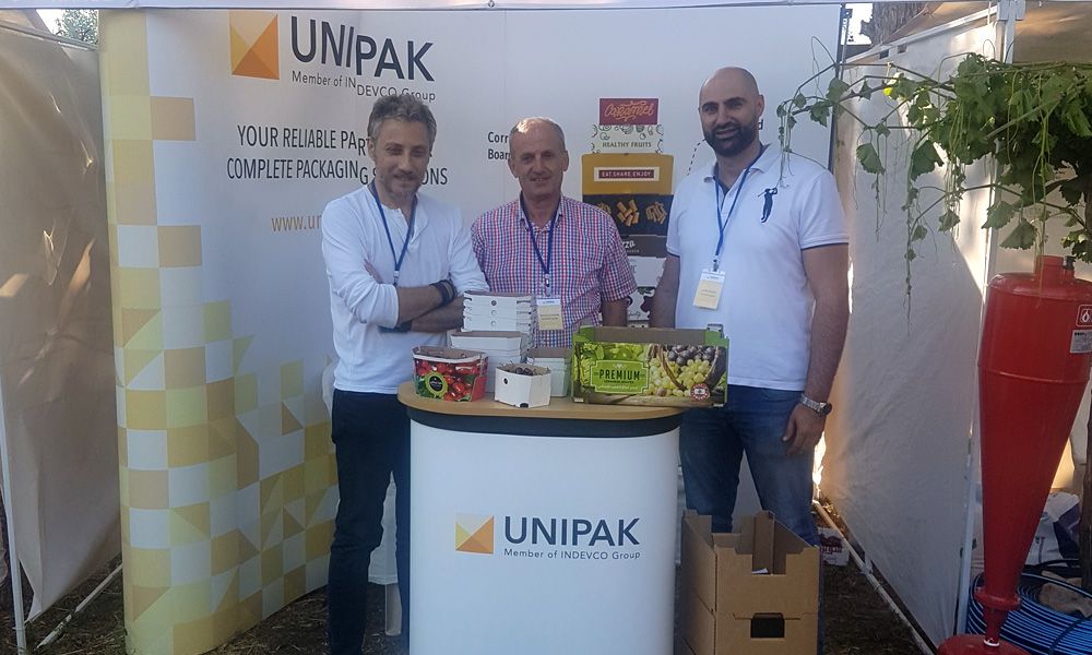 UNIPAK participates in the Grapes and Cherries Conference-Exhibition in Zahle, Lebanon.