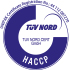 TUV-Nord Hazard analysis and critical control Points-(HACCP)
