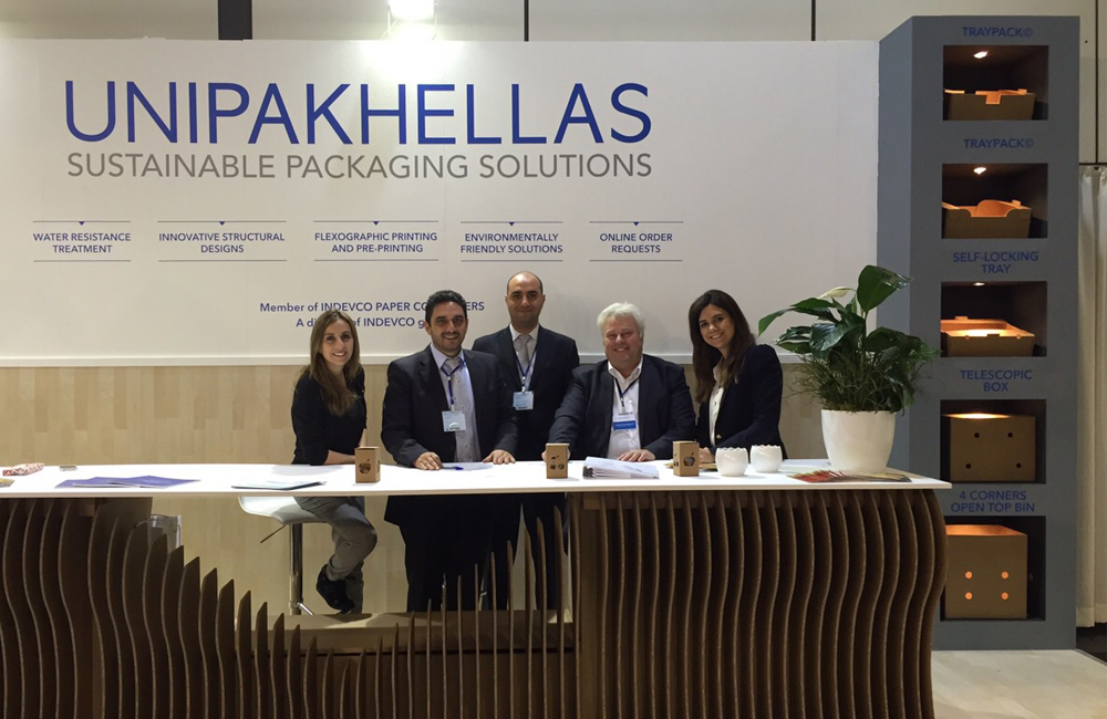 Unipakhellas team at Fruit Logistica 2015-Photo3