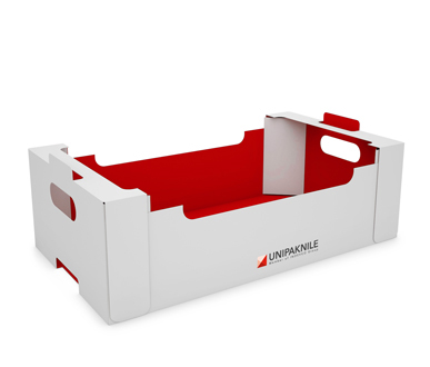 Traypak© - Agricultural Tray with Reinforced Corners- UNIPAKNILE-AT-01-005