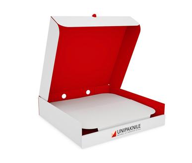 Double-Deck Pizza Box- UNIPAKNILE-PIB-01-001