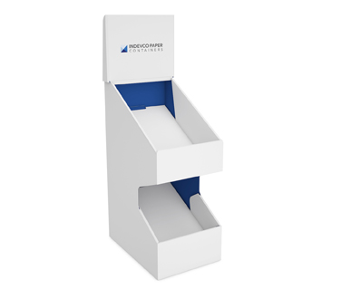 Slanted Tray Counter Display-IPC-CSD-03-004