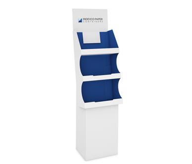 Tray Floor Stand Display-IPC-FSD-03-002
