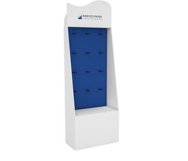 Pegboard Floor Stand Display-IPC-FSD-06-001