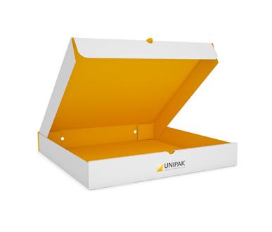 Front Self-Locking Pizza Box- UNIPAK-PIB-02-003