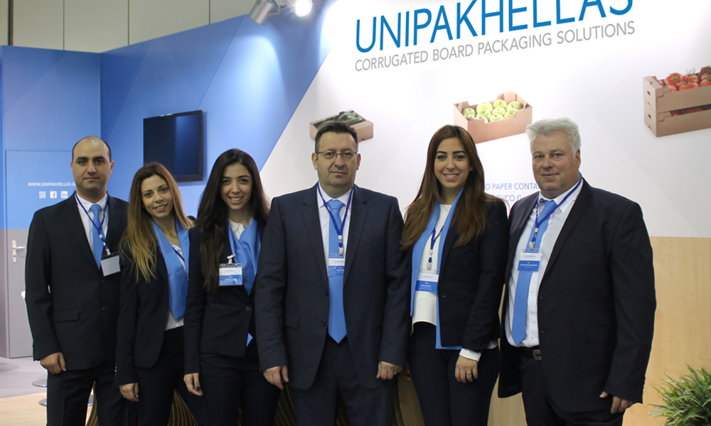 Unipakhellas team at Fruit Logistica 2016