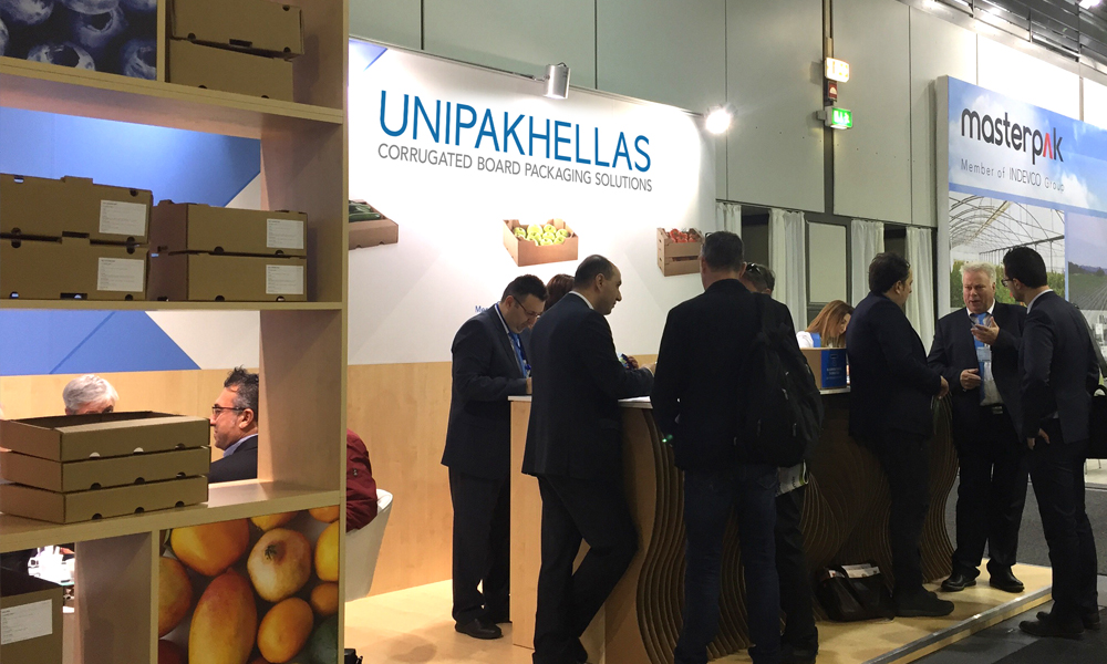 Unipakhellas at Fruit Logistica 2016