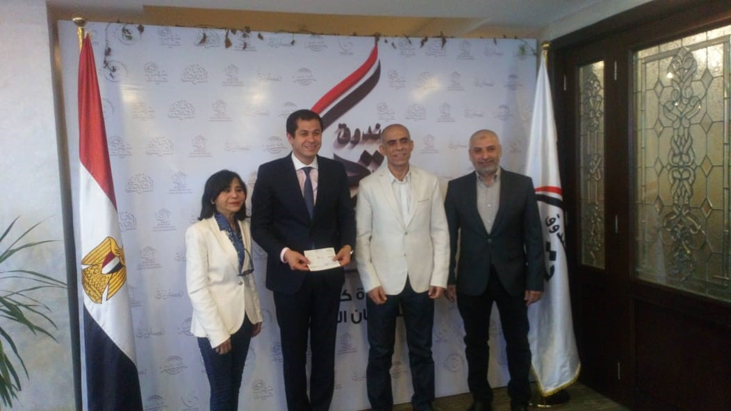 INDEVCO supports 'Tahya Misr' Fund, a donation-based national fund, to help Egyptian families in need during difficult times.